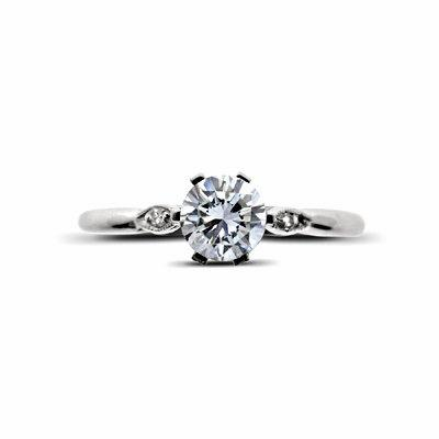 Brilliant Cut 6 Claw Set Single Stone 0.36ct EVVS1 GIA